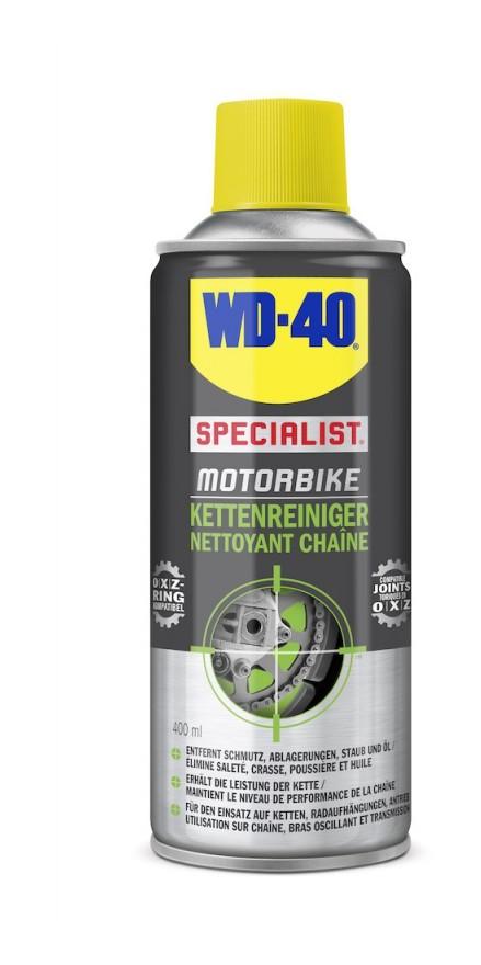 WD-40 Motorbike - Chaine Nettoyant, transparent 400ml (Par 6)