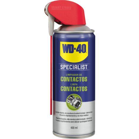 WD-40 Specialist Lubricante limpiador de contactos en formato Doble Acción de 400ml