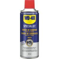 WD-40 Specialist Motorbike Lubricante Grasa de Cadenas en spray 400ml. Bicicleta y motos