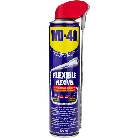WD-40 - Spray lubricante multiuso flexible 400 ml