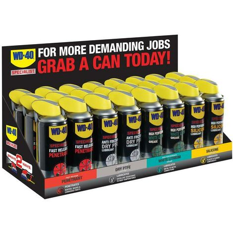 WD-40 W/D44717 Specialist Mixed Display Case