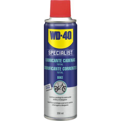 WD40 Bike Lubricante de cadenas bicicleta All Conditions (todo tipo de condiciones), Ciclismo 250ml