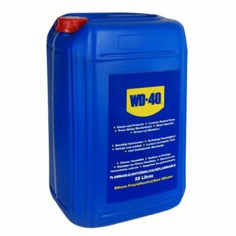 WD40 Industrial - Aceite lubricante multiusos Bidón 25L