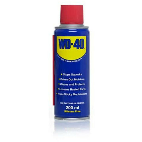 WD40 lubricant penetrating oil spray 200ml