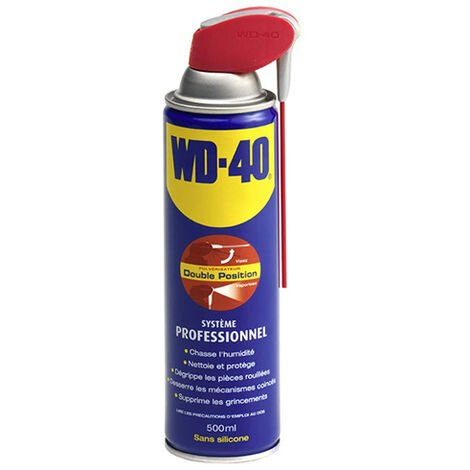 WD40 multifonction - système professionnel aérosol 500ml