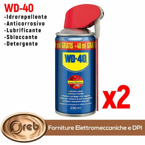 """main image of """"Wd40 wd-40 lubrificante spray multiuso 250ml + 40ml omaggio 290 ml 2 pezzi"""""""
