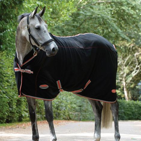 Weatherbeeta Therapy-tec Fleece Standard Neck Rug (6ft 5) (Black/Silver/Red)