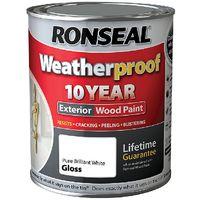 Weatherproof 10 Year Exterior Wood Paint