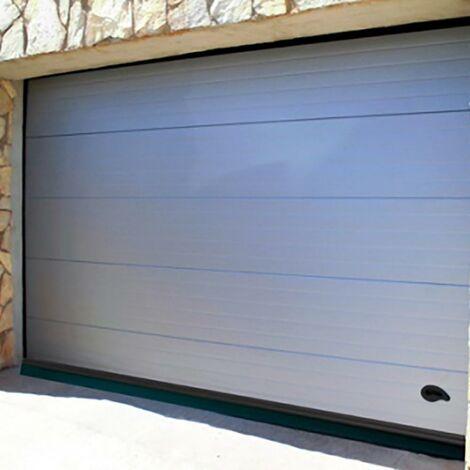 Weatherstrip Garage Screws Lip Screws 250Cm Aluminium Black Burcasa 127453