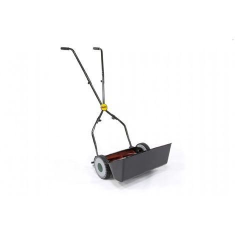 "Webb 12"" Autoset Side Wheel Hand Push Lawn mower"