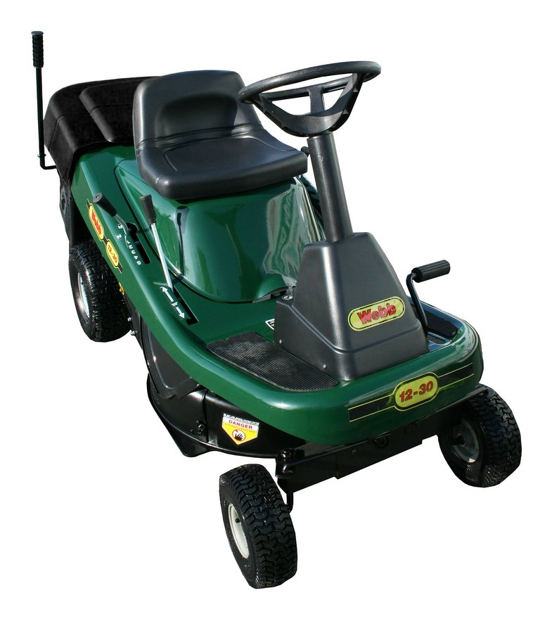 webb 12530 petrol ride on lawn mower 76cm 30in with collector L 3360751 16900397 1