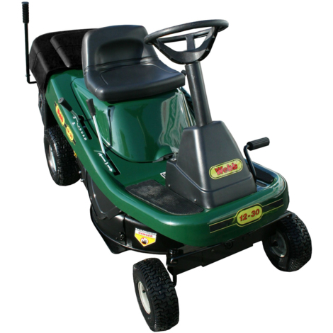 Webb 12530 Petrol Ride-On Lawn Mower 76cm/30in with Collector