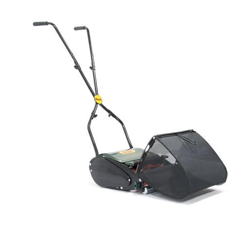 Webb H12R Hand Push Cylinder Lawn Mower 30cm/12in Manual Rear Roller