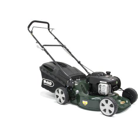 Webb R18HP Supreme Petrol Push Rotary Lawn Mower 46cm/18in