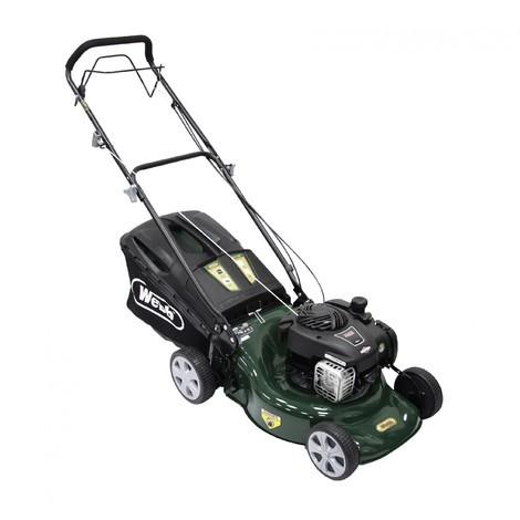 """WEBB R18SP 18"""" Self Propelled Petrol Rotary Lawnmower"""