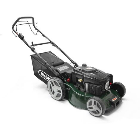 Webb R460SPES Classic Petrol Self Propelled Rotary Lawn Mower 46cm/18in