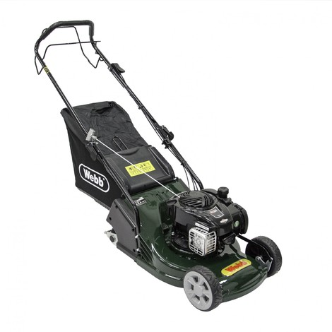 """Webb RR17SP Rotary Roller 17"""" Lawn Mower ( Engine Oil Included)"""