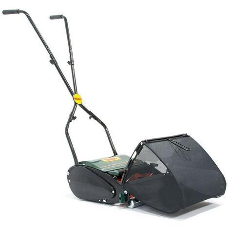 Webb - Tondeuse à gazon manuel hélicoïdale 30 cm 18L avec rouleau arrière métal - WEBBH30R