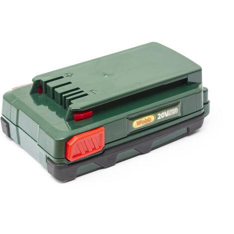 Webb V202AH 20v Spare Battery 2.0Ah for Garden Power Tools