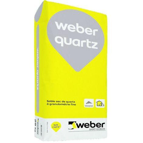 Weber quartz sable d'accrochage sac 25 kg-Weber
