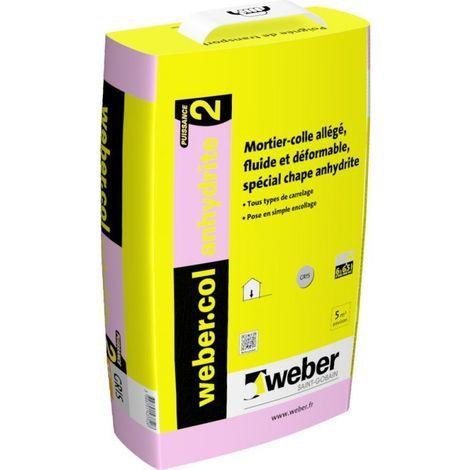 Webercol Anhydrite 2 sac de 15kg-Weber