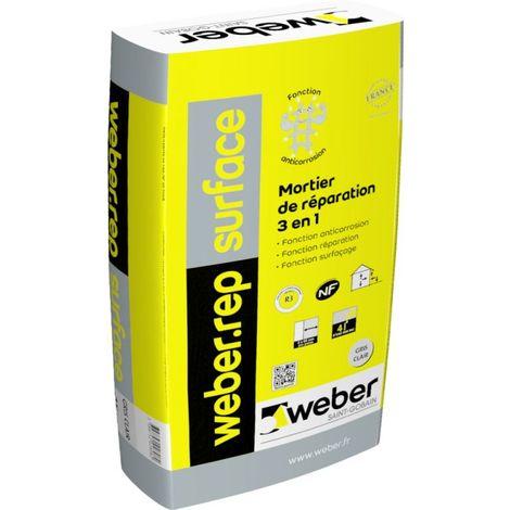 Weberep surface gris clair sac de 25 kg-Weber