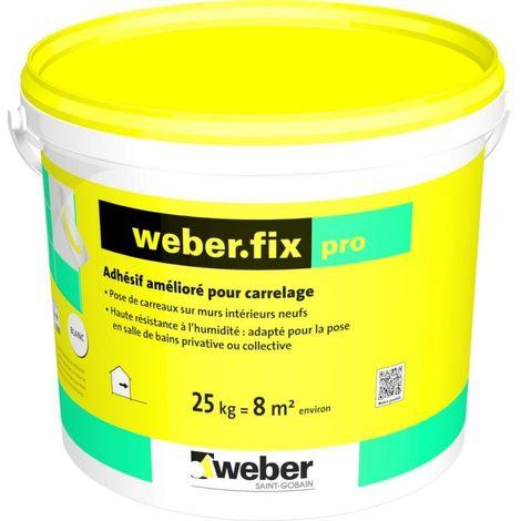 Weberfix pro sceau de 25 kg-Weber