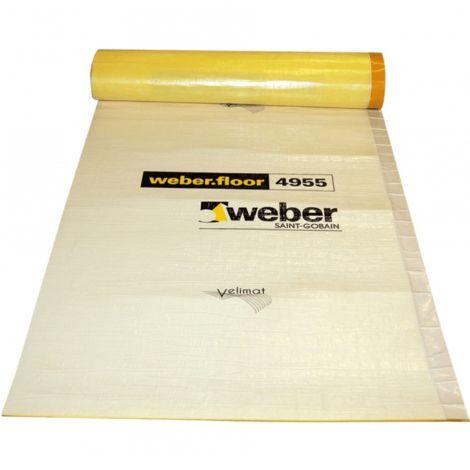 weber.floor 4955 - Trittschall- und Trennlagenbahn - 30qm