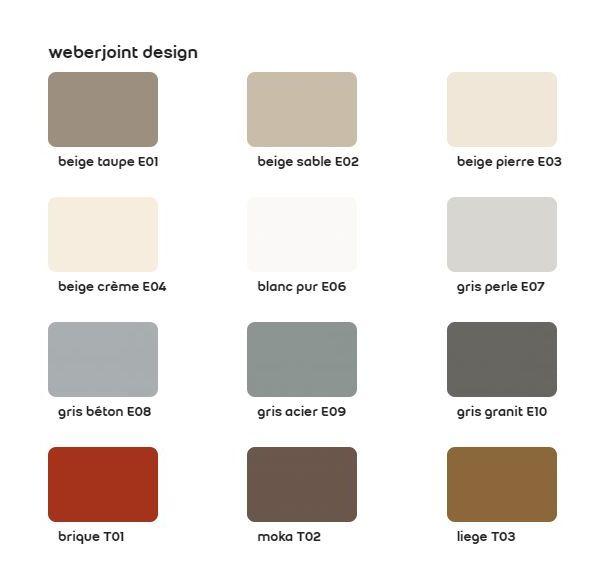 Belle Weberjoint design sac de 5 kg-Weber | Beige crème - 11101730 NW-61