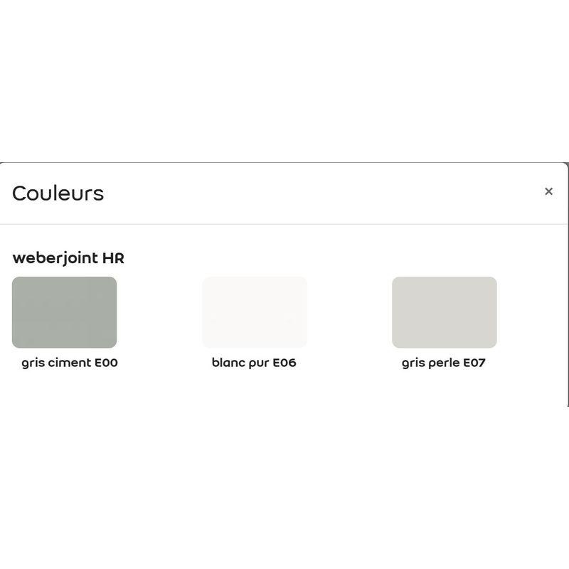 Belle Weberjoint HR seau de 20 kg-Weber | Gris ciment - 11101762 YV-29