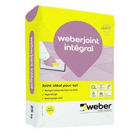 Weberjoint intégral sac de 25 kg-Weber