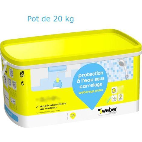 Webersys protec sceau de 20 kg-Weber