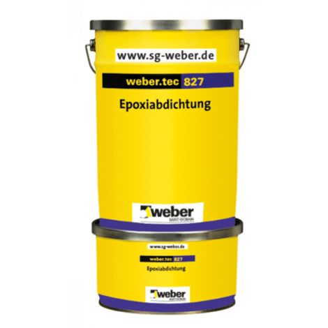 "main image of ""weber.tec 827/827 S - Flexible Reaktionsharzabdichtung"""