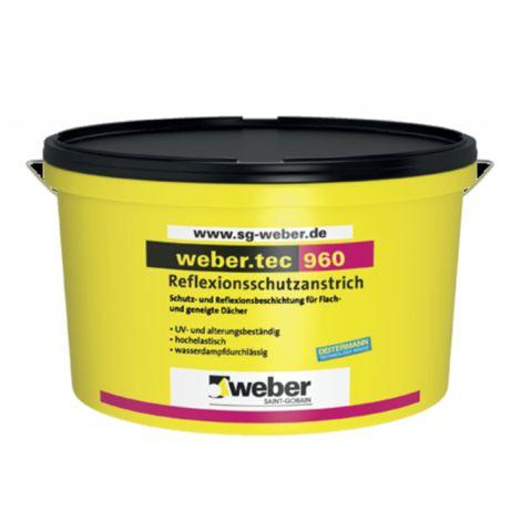weber.tec 960, 24 kg - Reflexionsschutzanstrich