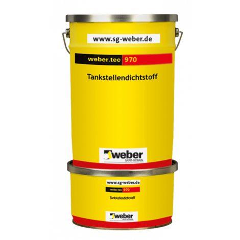 weber.tec 970 - Tankstellendichtstoff, grau