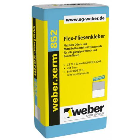 weber.xerm 852, 25 kg - Flex-Fliesenkleber
