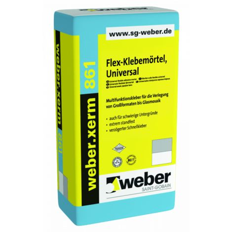 weber.xerm 861, 25kg - Flex-Klebemoertel Universal