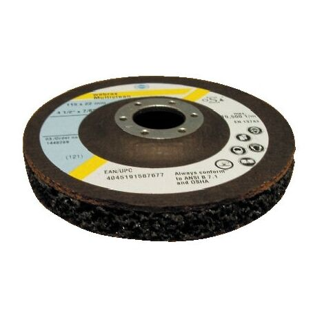 WEBRAX MULTICLEAN PAINT & RUST REMOVAL DISC 115mm