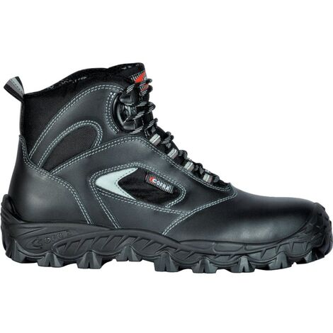 Weddell Metal Free Black Safety Boots