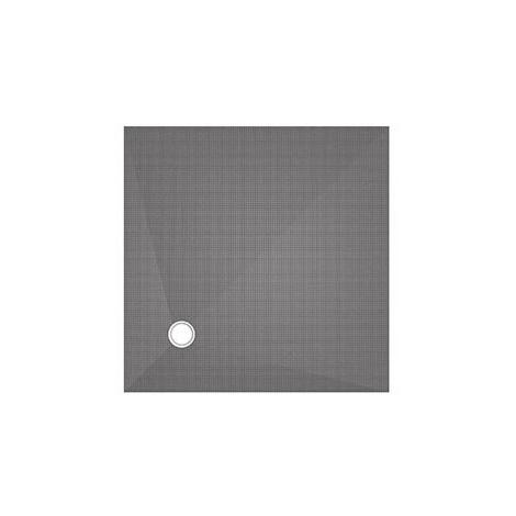 Wedi Bodenelem. Fundo Primo 100/100 cm 40mm quadrat. Ablauf dezentral 073735531