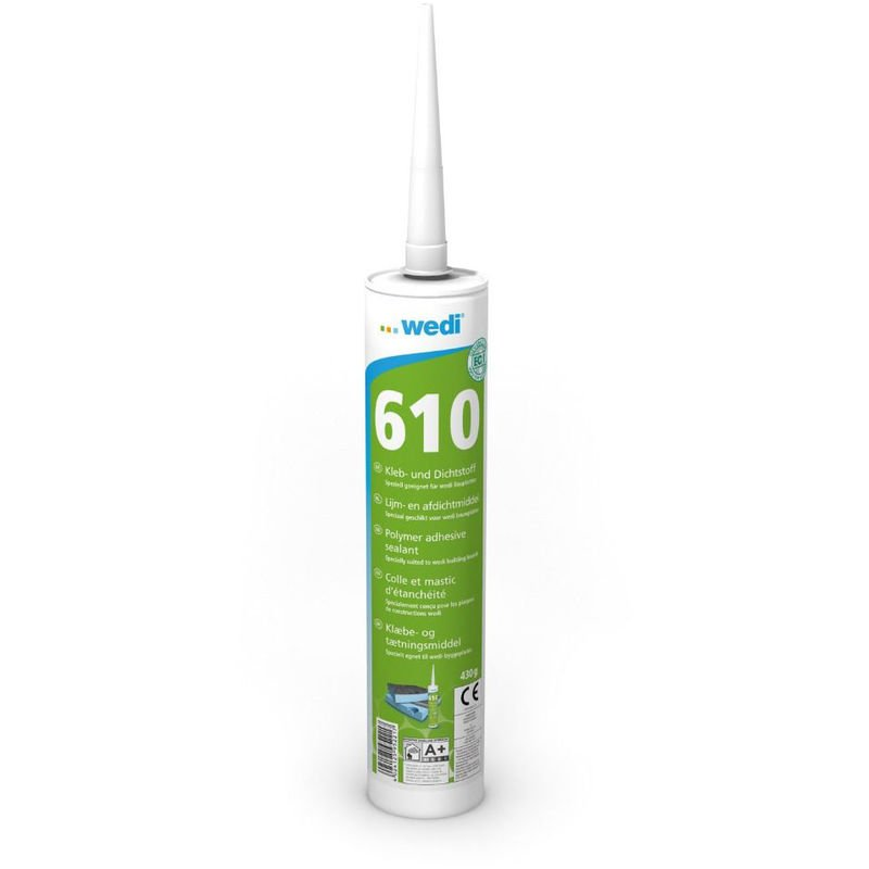 Colle polymere WEDI 610 monocomposant - 310ml