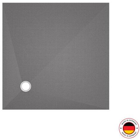 Wedi fundo primo carré ecoulement excentré dans l'angle