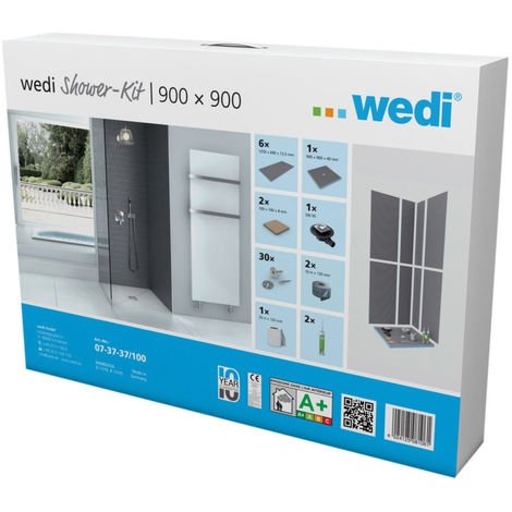 Wedi fundo primo shower kit