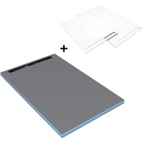 Wedi - Receveur Riolito Neo Fundo Top, 160 x 100, Blanc