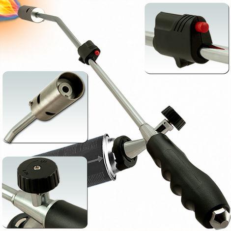 Weed Burner Deuba Piezo Ignition Butane Gas Powered Ergonomic Standard Bayonet