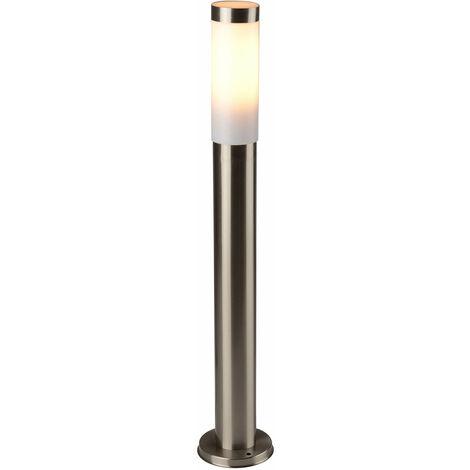Wegeleuchte in Edelstahl IP44 Gartenlampe H:80cm Ø6cm