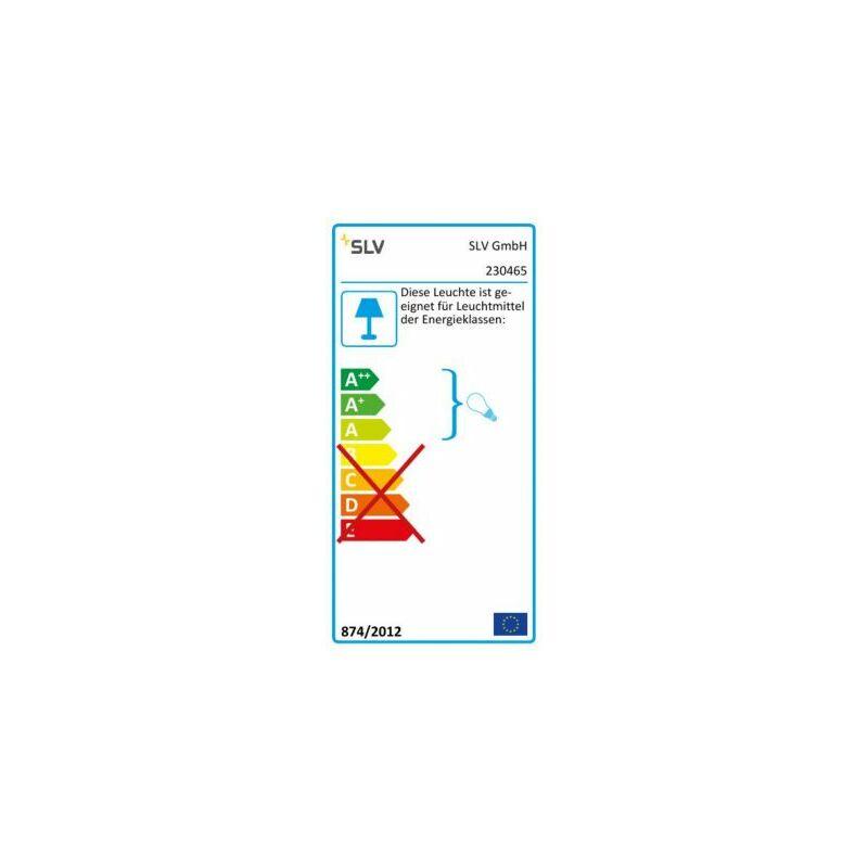 OTOS GLAS Stehleuchte,anthrazit, E27 ESL, max. 15W,IP43 - CERTEO