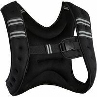 Weight vest adjustable fitness vest - weighted running vest, weight jacket, training vest