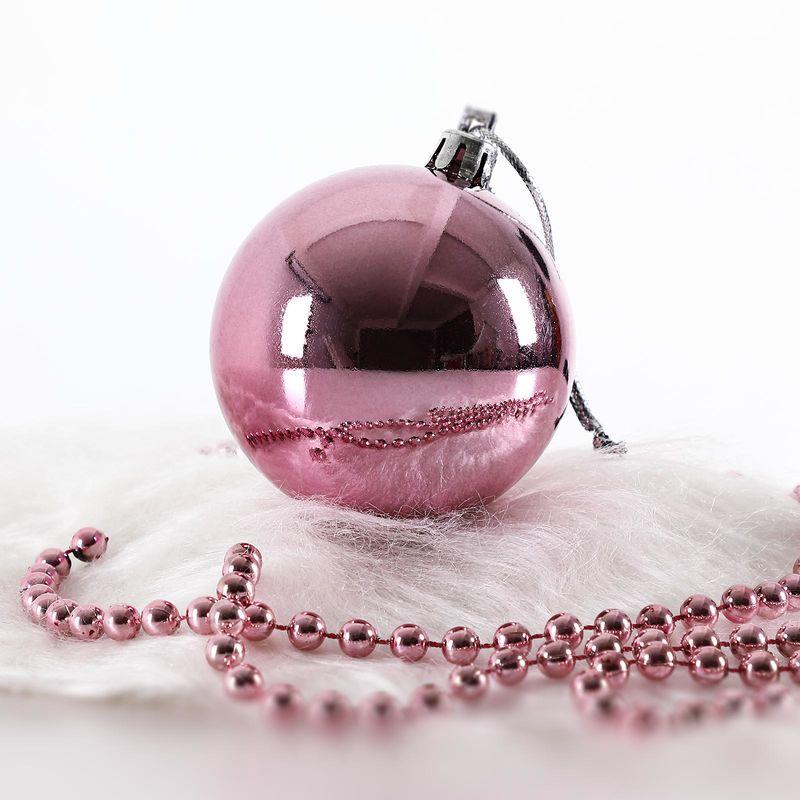 weihnachtsbaumkugeln rosa