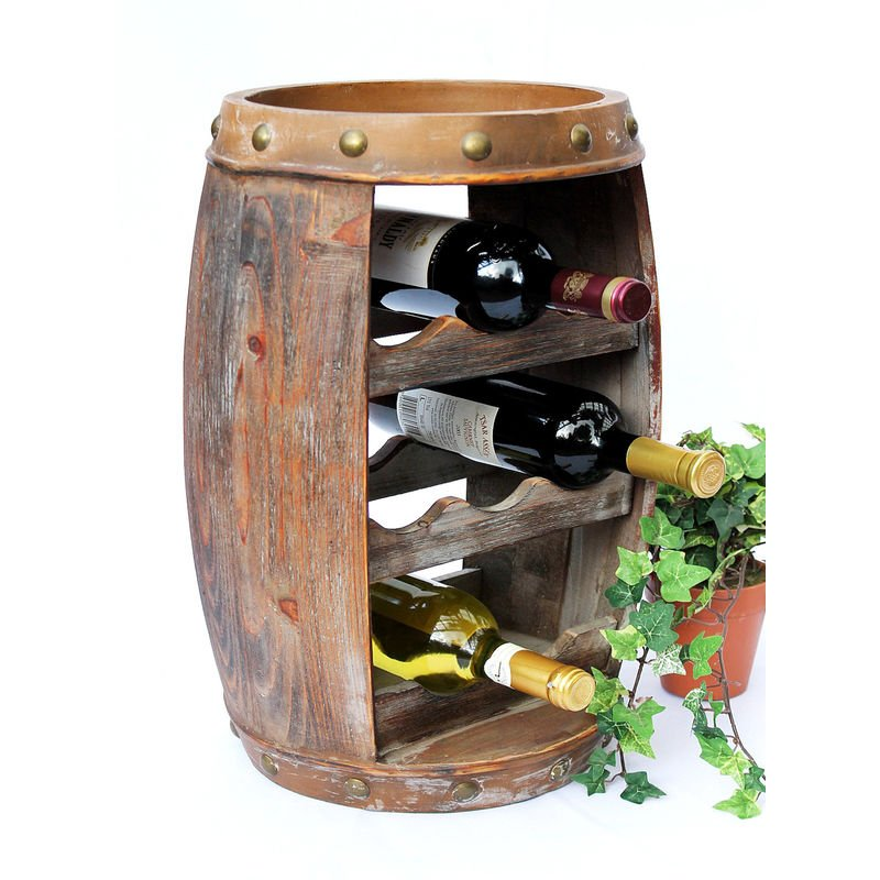 Edelstahl Weinregal Flaschenregal Wein Flasche Wandhalter 2 Gr/ö/ße zur Auswahl Weinregal 3 Flaschen